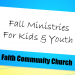 Fall for Faith Kids & Youth